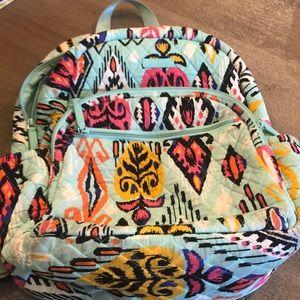 Used Vera Bradley bookbag and lunch tote